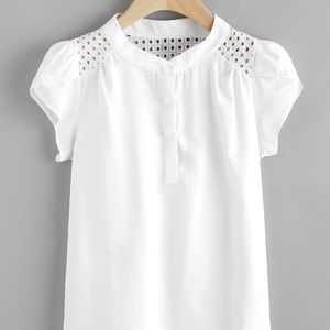 🎃New Shein white top